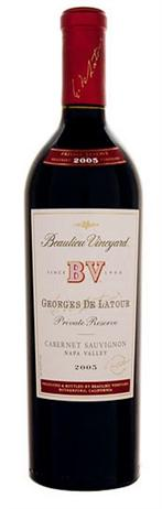 Beaulieu Vineyard Cabernet Sauvignon Private Reserve Georges de Latour